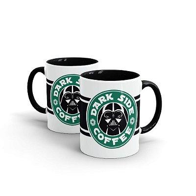 Caneca Cerâmica Dark Side Coffee - Beek