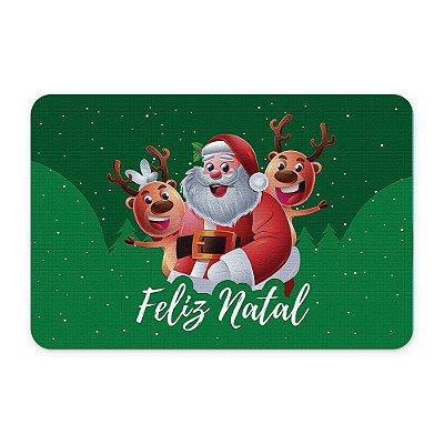 Tapete 60x40 Papai Noel - Beek