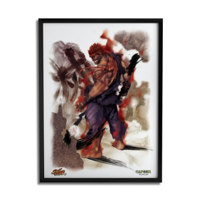 Quadro Decorativo Street Fighter Akuma - Beek
