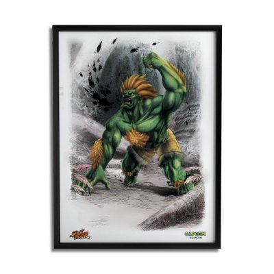Quadro Decorativo Street Fighter Blanka - Beek