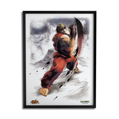 Quadro Decorativo Street Fighter Ken - Beek