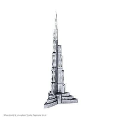 Mini Réplica de Montar Burj Khalifa