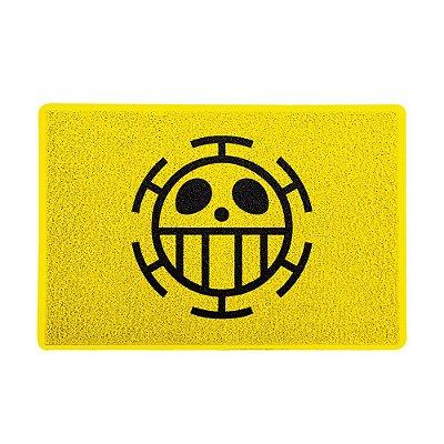Capacho 60x40cm - ONE PIECE Amarelo
