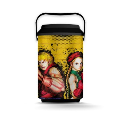 Cooler 10 Latas STREET FIGHTER - Ken e Cammy