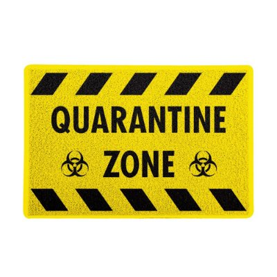 Capacho 60x40cm Quarantine Zone - Beek