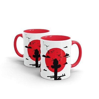Caneca Cerâmica Renegado (Interior e Alça Vermelho) - Beek