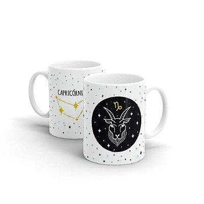 Caneca Cerâmica - Signo Capricórnio