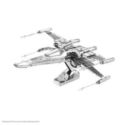 Mini Réplica de Montar STAR WARS Poe Dameron's X-Wing Fighter