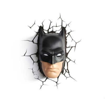 Luminária 3D Light FX Rosto Batman