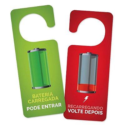 Aviso de Porta - Bateria