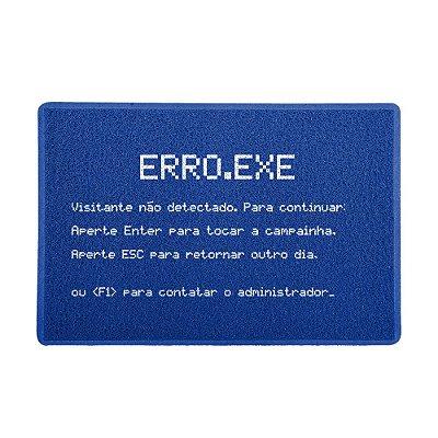 Capacho 60x40cm - ERRO.EXE