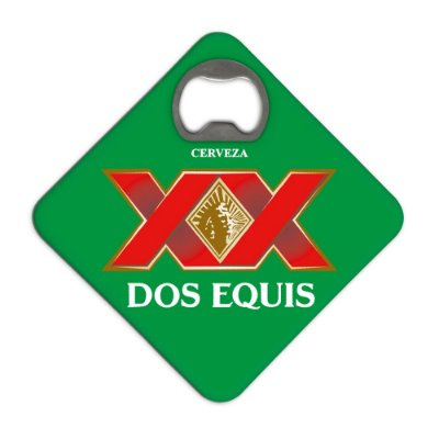 Porta Copos c/ Abridor - DOS EQUIS