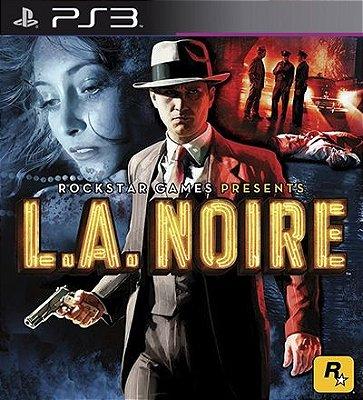 L.A. Noire - PS3 Mídia Digital
