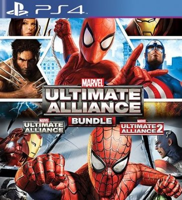 Marvel Ultimate Alliance Bundle - PS4 Mídia Digital