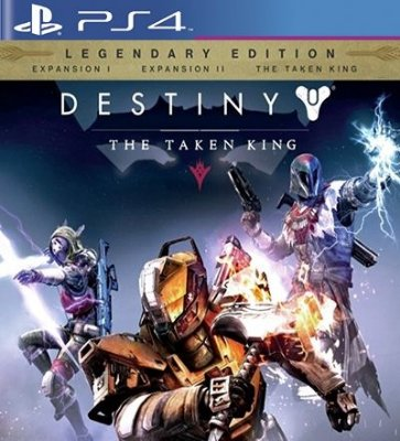Destiny The Taken King Legendary Edition - PS4 Mídia Digital