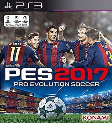 Pes 2017 Pro Evolution Soccer 2017 - PS3 Mídia Digital