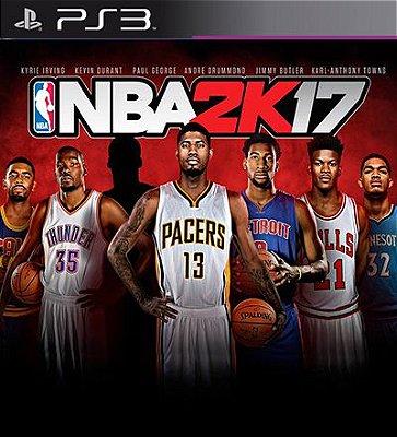 NBA 2k17 - PS3 Mídia Digital