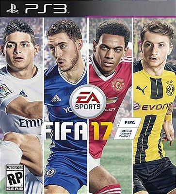Fifa 17 em Portugues - PS3 Mídia Digital