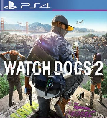 Watch Dogs 2 - PS4 Mídia Digital