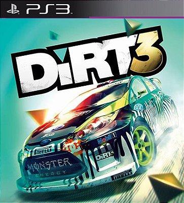Dirt 3 - PS3 Mídia Digital