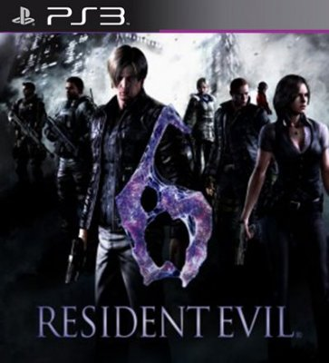 Resident Evil 6 - PS3 Mídia Digital