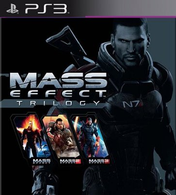 Mass Effect Trilogy com 3 Jogos - PS3 Mídia Digital