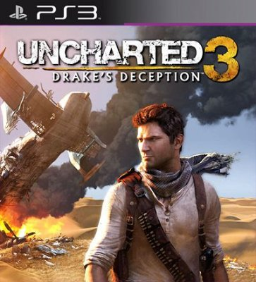 Uncharted 3 Drakes Deception - PS3 Mídia Digital