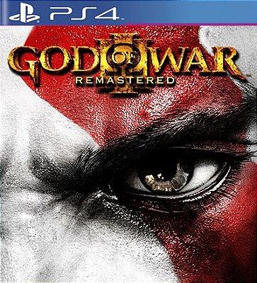 God of War 3 Remastered - PS4 Mídia Digital