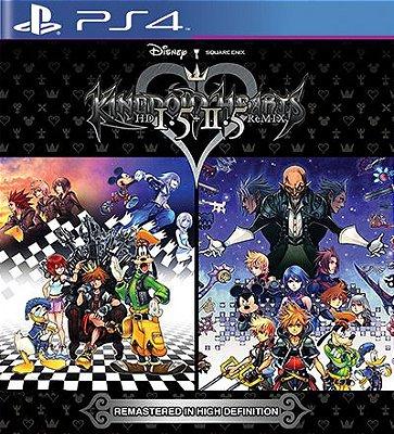 Kingdom Hearts HD 1.5 +2.5 ReMIX - PS4 Mídia Digital
