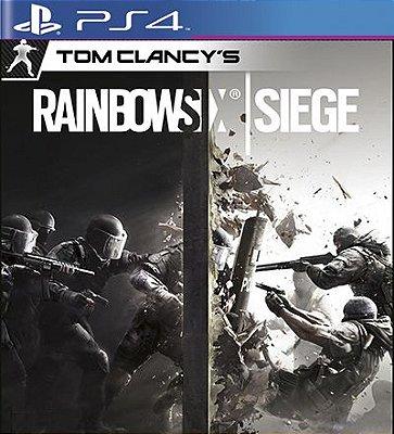 Tom Clancys Rainbow Six Siege - PS4 Mídia Digital