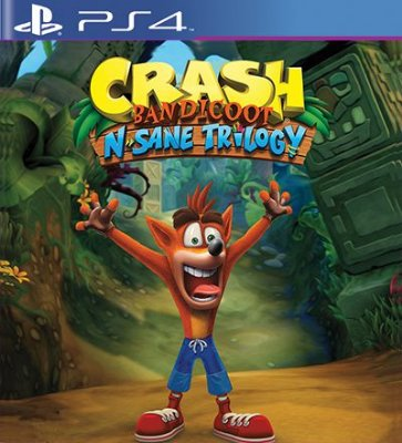 Crash Bandicoot N Sane Trilogy - PS4 Mídia Digital
