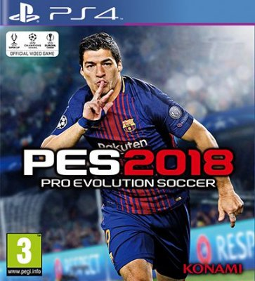 PES 2018 Pro Evolution Soccer - PS4 Mídia Digital