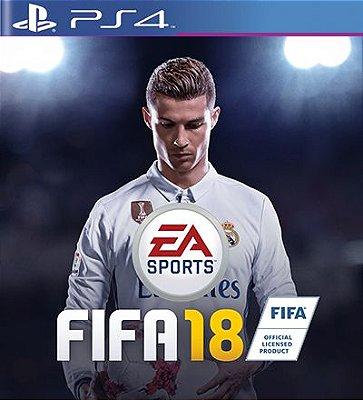 Fifa 18 em Português - PS4 Mídia Digital