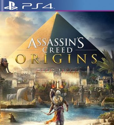 Assassins Creed Origins - PS4 Mídia Digital