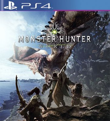 Monster Hunter World - PS4 Mídia Digital