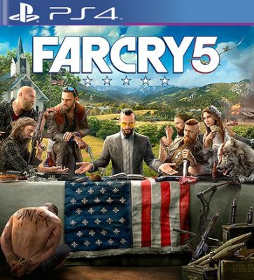FAR CRY 5 - PS4 Mídia Digital