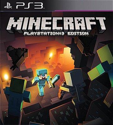 Minecraft Playstation 3 Edition - PS3 Mídia Digital