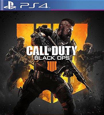 Call of Duty Black Ops 4 - PS4 Mídia Digital