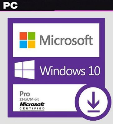 Windows 10 Pro 32/64 Licença Original Digital Certificada - PC