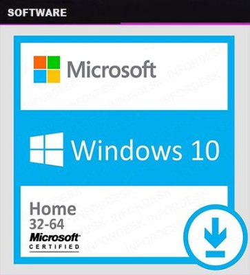 Windows 10 HOME 32/64 Licença Original Digital Certificada - PC
