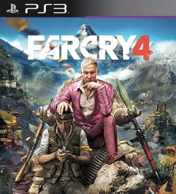 Far Cry 4 - PS3 Mídia Digital