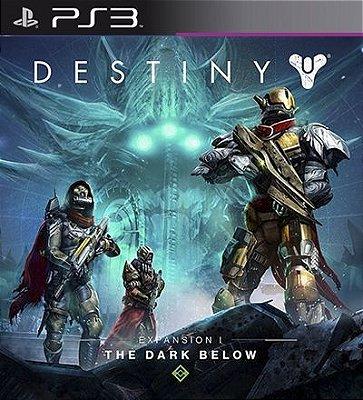 The Dark Below Expansion 1 DLC PSN Destiny - PS3