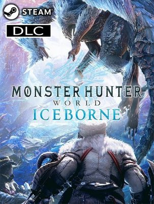Monster Hunter World Iceborne - DLC Steam Key Original Digital Download