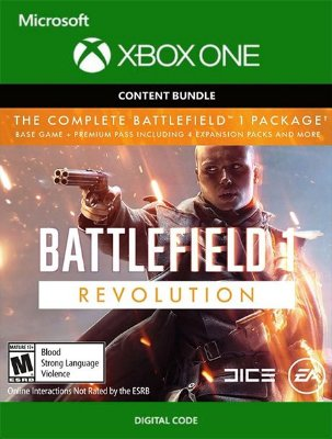 Battlefield 1 Revolution Complete Xbox One Live Digital Original - Codigo 25 Digitos