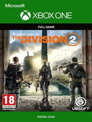 Tom Clancys The Division 2 Xbox One Live Digital Original - Codigo 25 Digitos