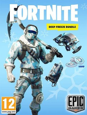 Fortnite Deep Freeze Bundle - Epic Games Key Digital Download