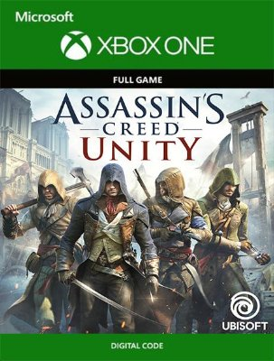 Assassin's Creed: Unity Xbox One Live Digital Original - Codigo 25 Digitos