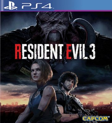 RESIDENT EVIL 3 Remake - PS4 Mídia Digital