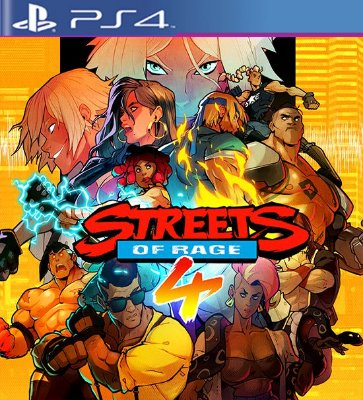 Streets Of Rage 4 - PS4 Mídia Digital