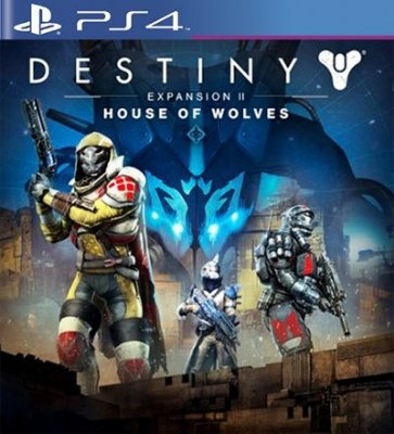 House of Wolves Expansion 2 DLC PSN Destiny - PS4